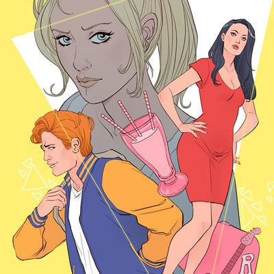Marguerite sauvage riverdale cover def