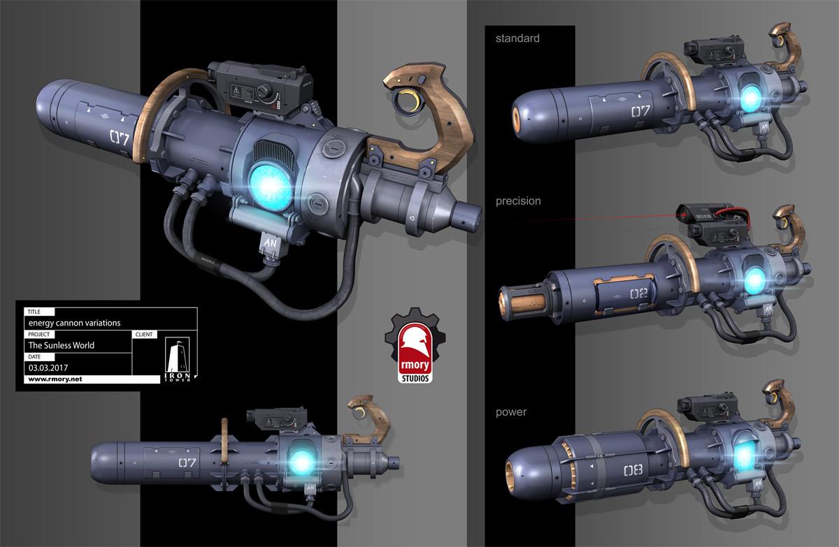 Energy Cannon - The Sunless World - rmory studios