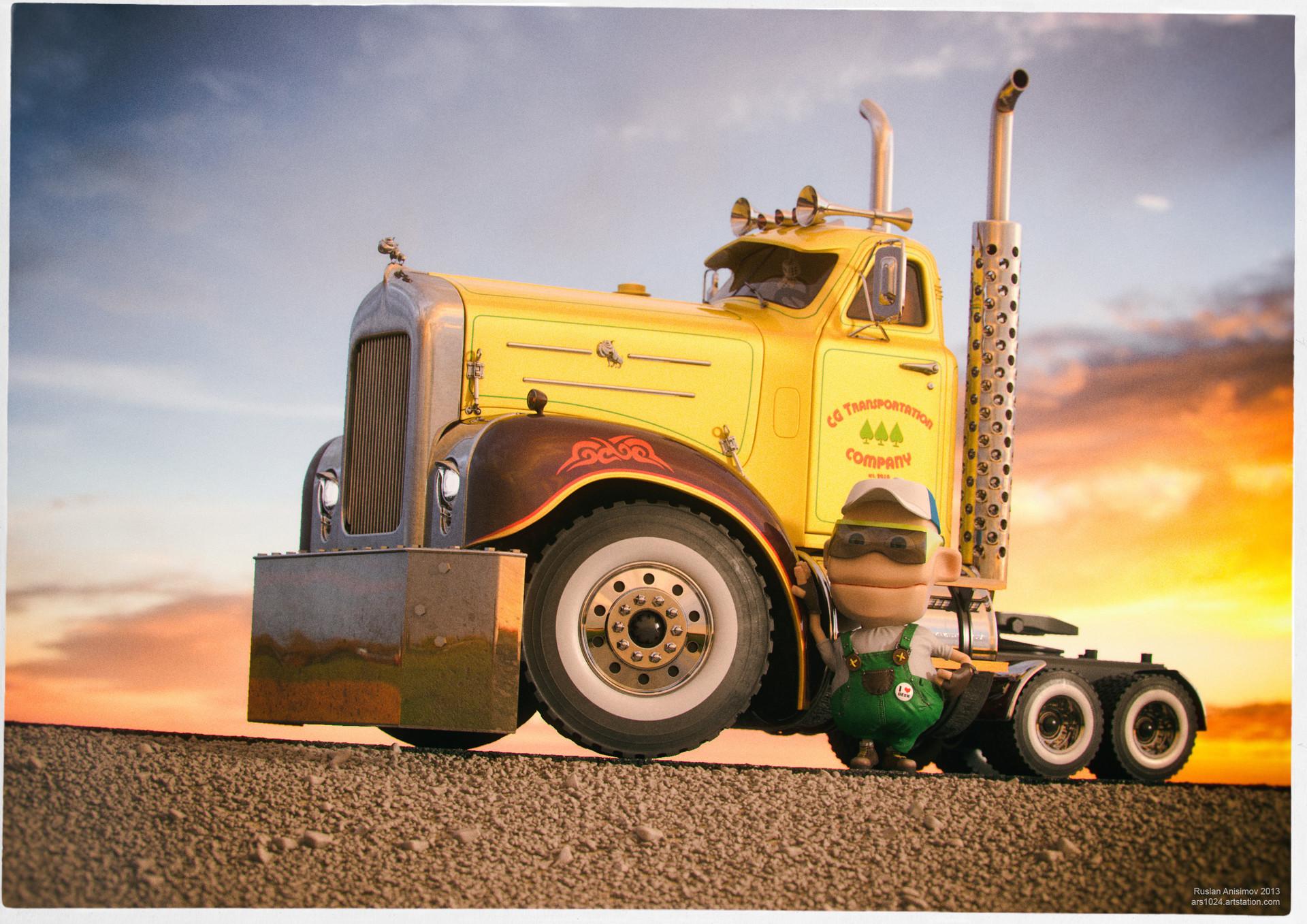 Ruslan anisimov 2013 truck04