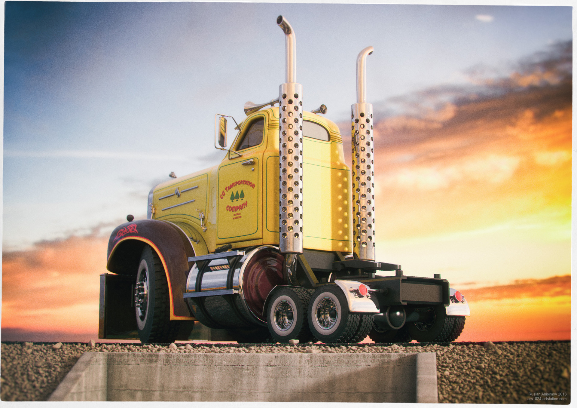 Ruslan anisimov 2013 truck05