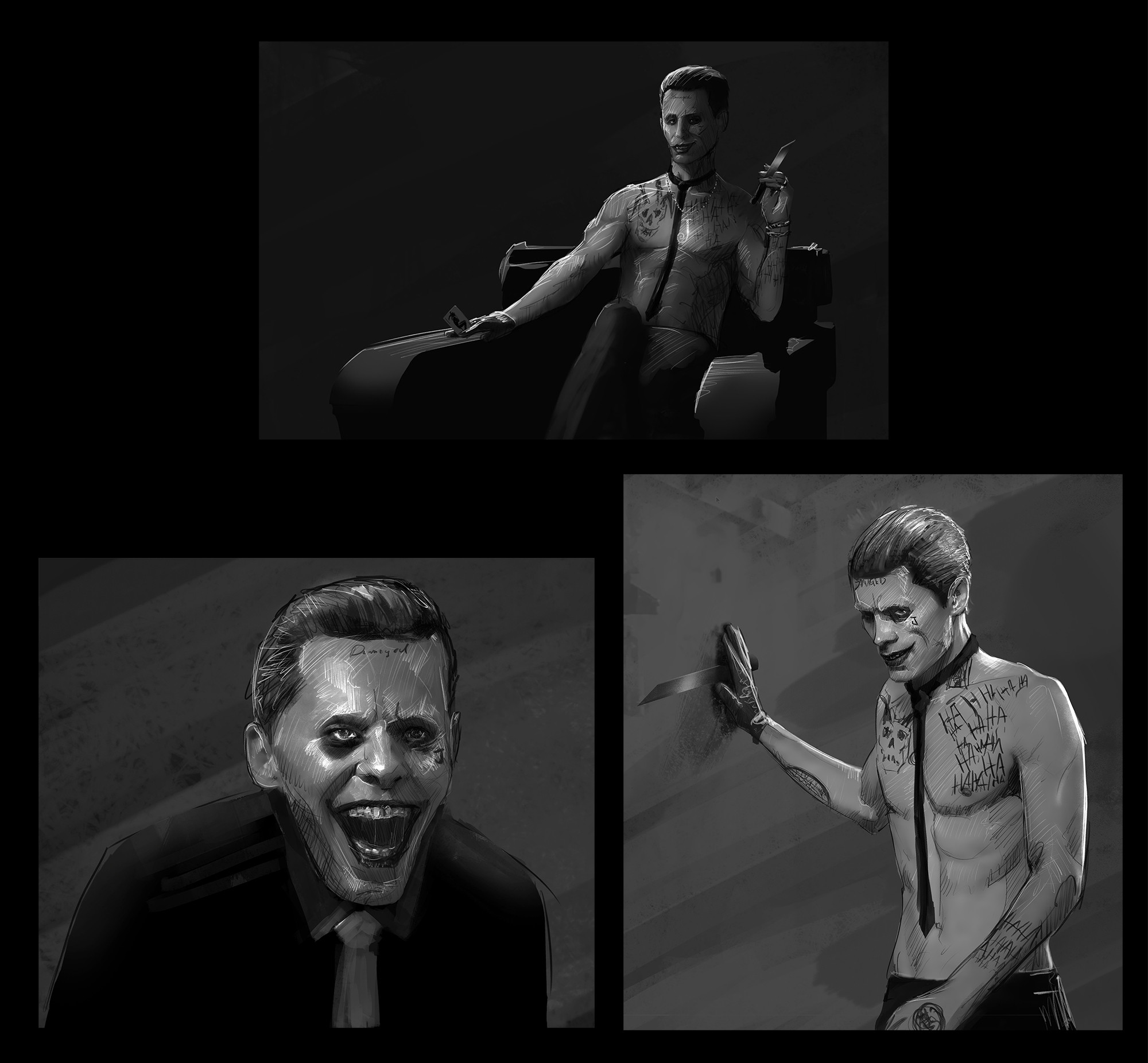 Suicide Squad Joker Concepts