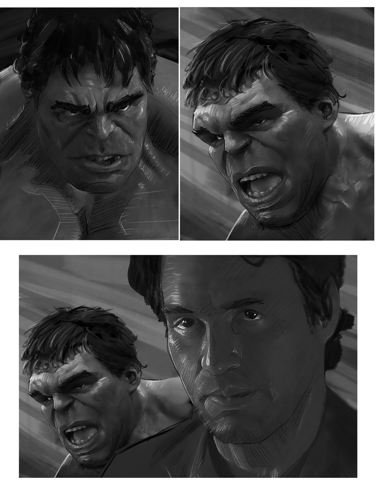 Hulk Skteches
