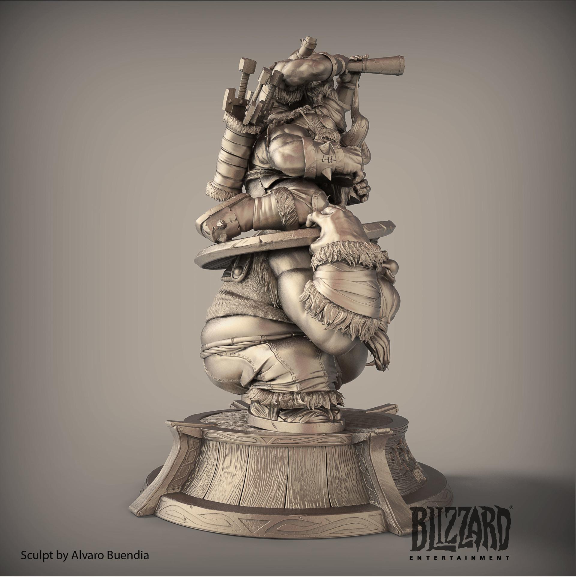 Alvaro Buendia Lost Vikings Blizzard 25 Years Anniversary Employee
