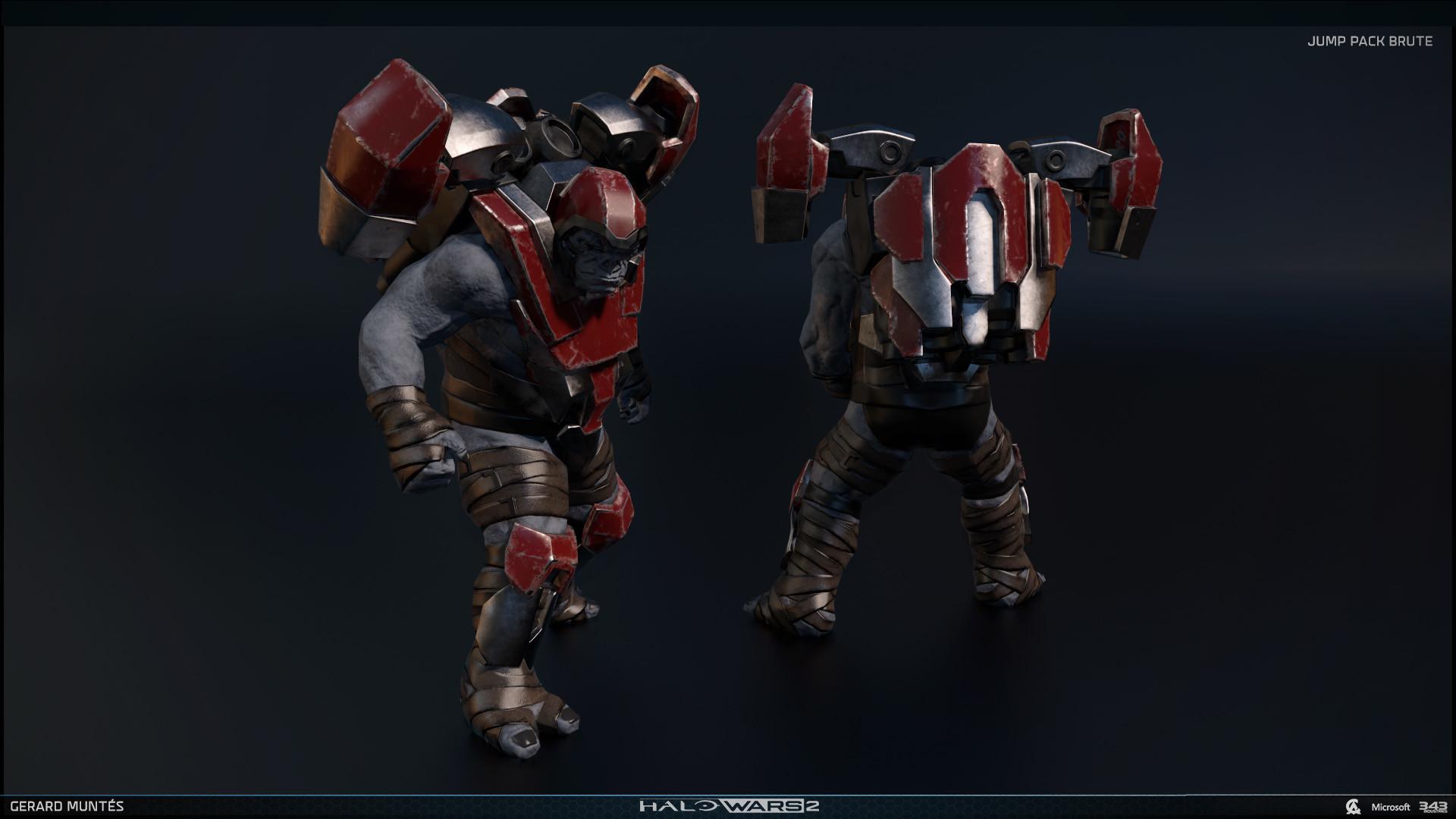 ArtStation - Halo wars 2 Banished, Gerard Muntés