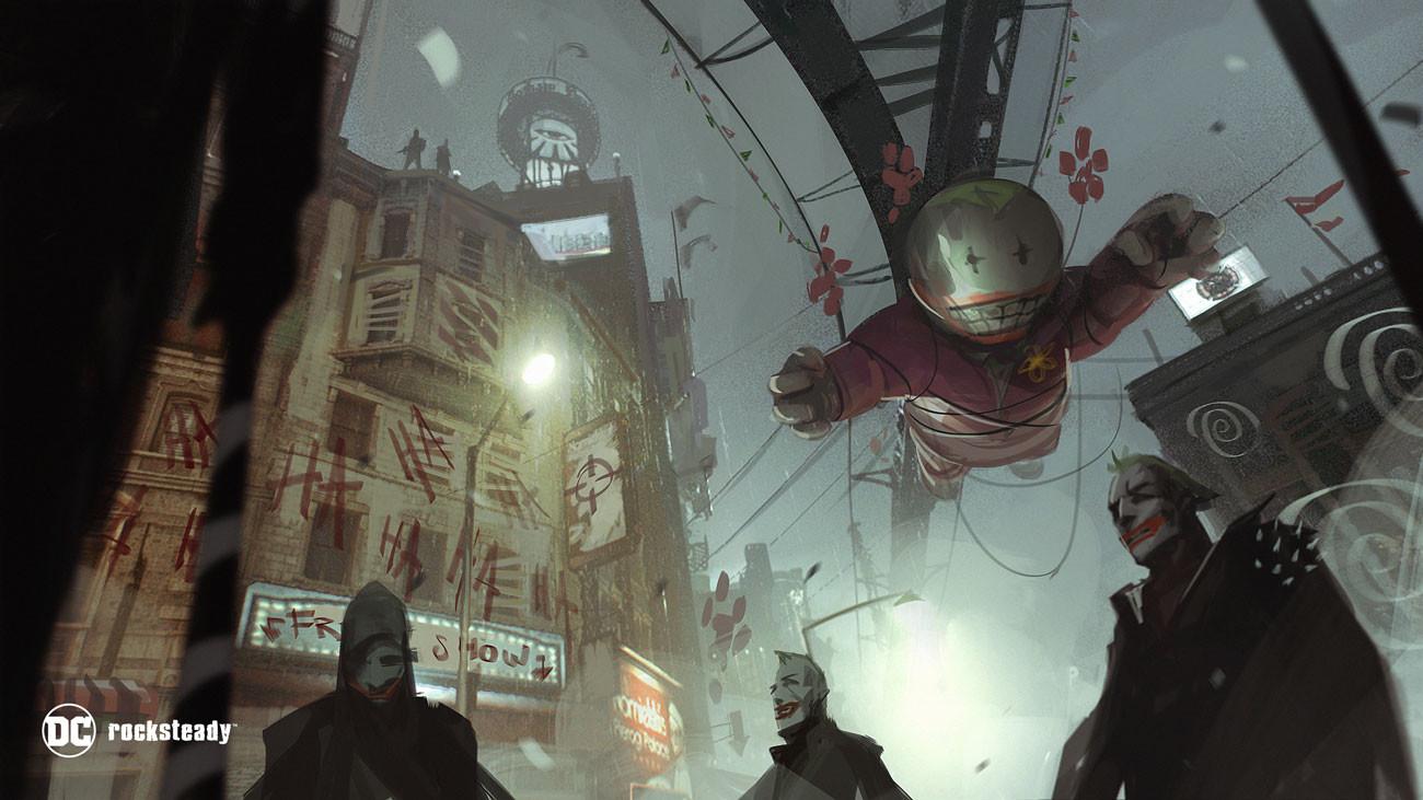 Arkham Concept Art