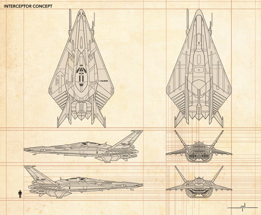 Yanni davros interceptor concept for web