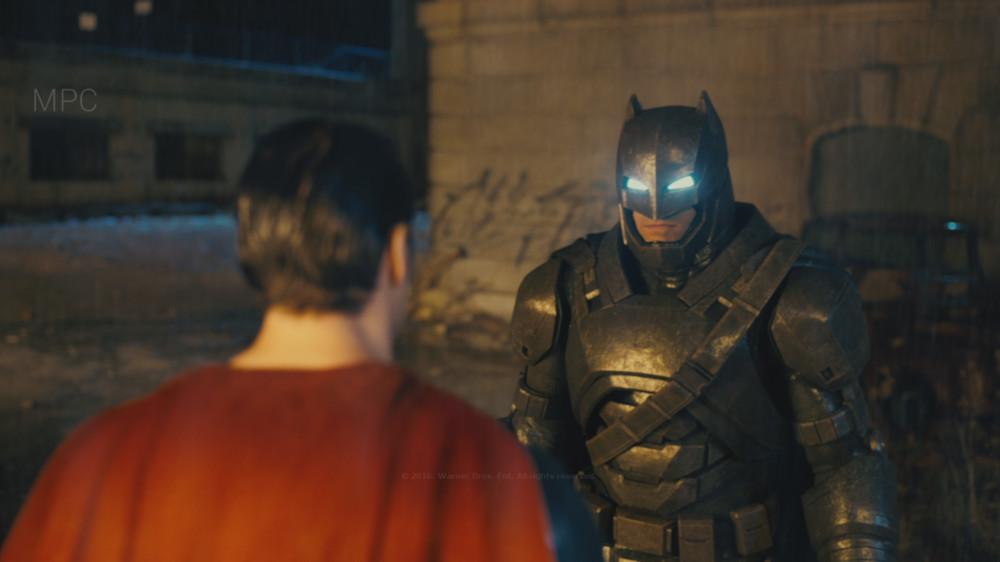 Responsible for Batman Look Dev.  Full CG character. Shot Lighting by Rémy Dalmas