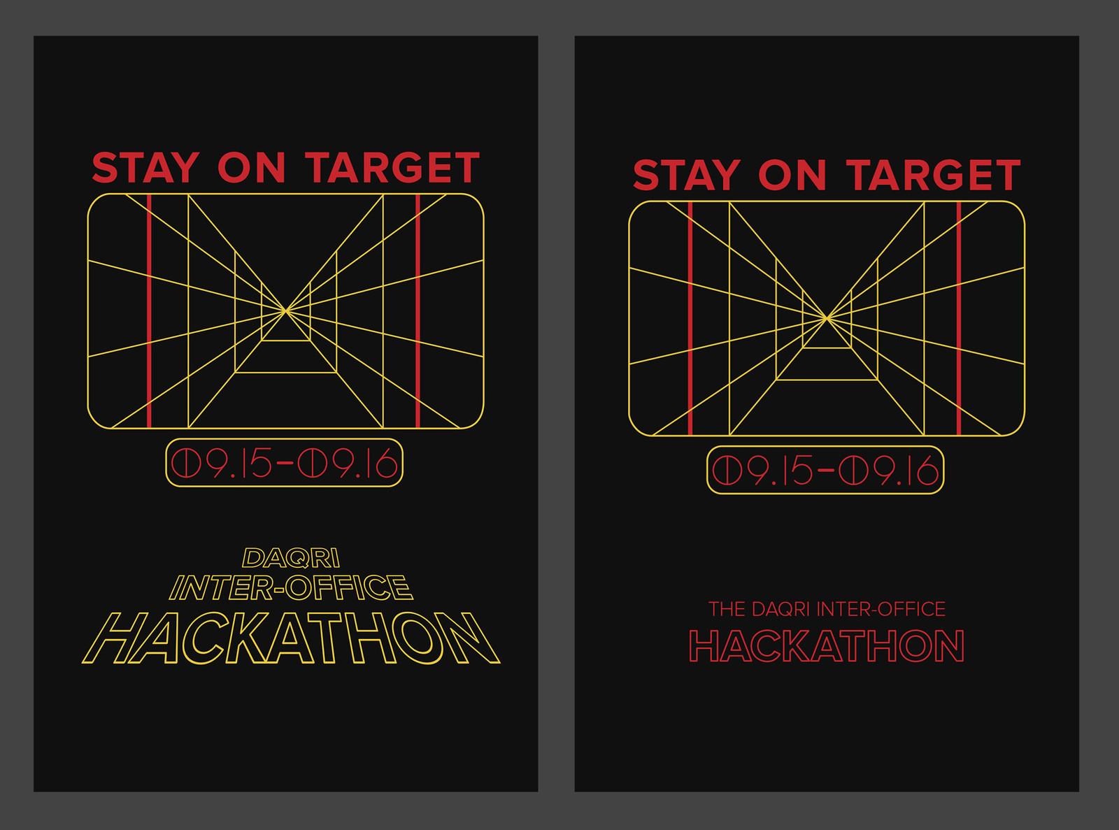 DAQRI Hackathon Posters