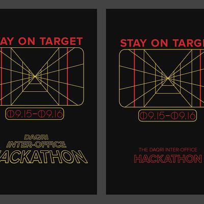 Andrew hunt hackathon poster concepts