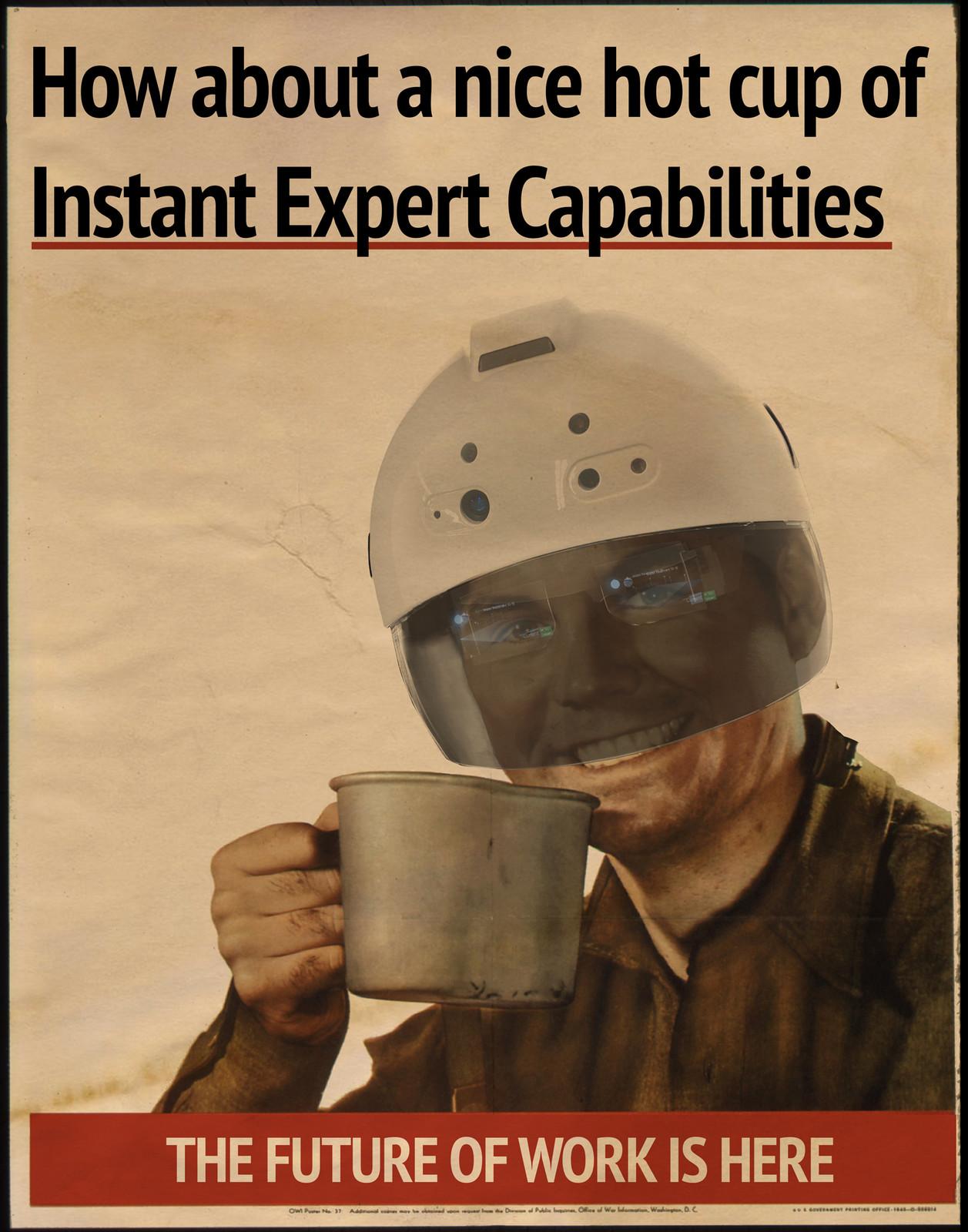 DAQRI Smart Helmet Poster