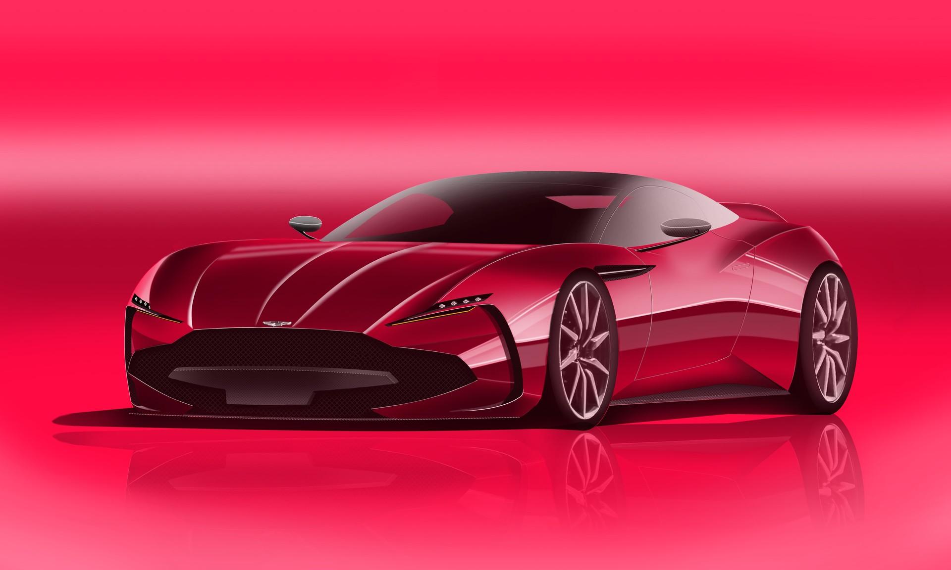 Max Hordin Aston Martin Sketch