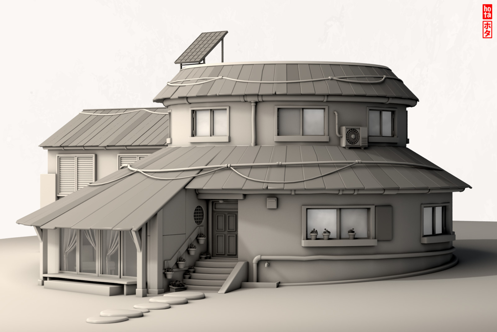 Uzumaki´s family house.