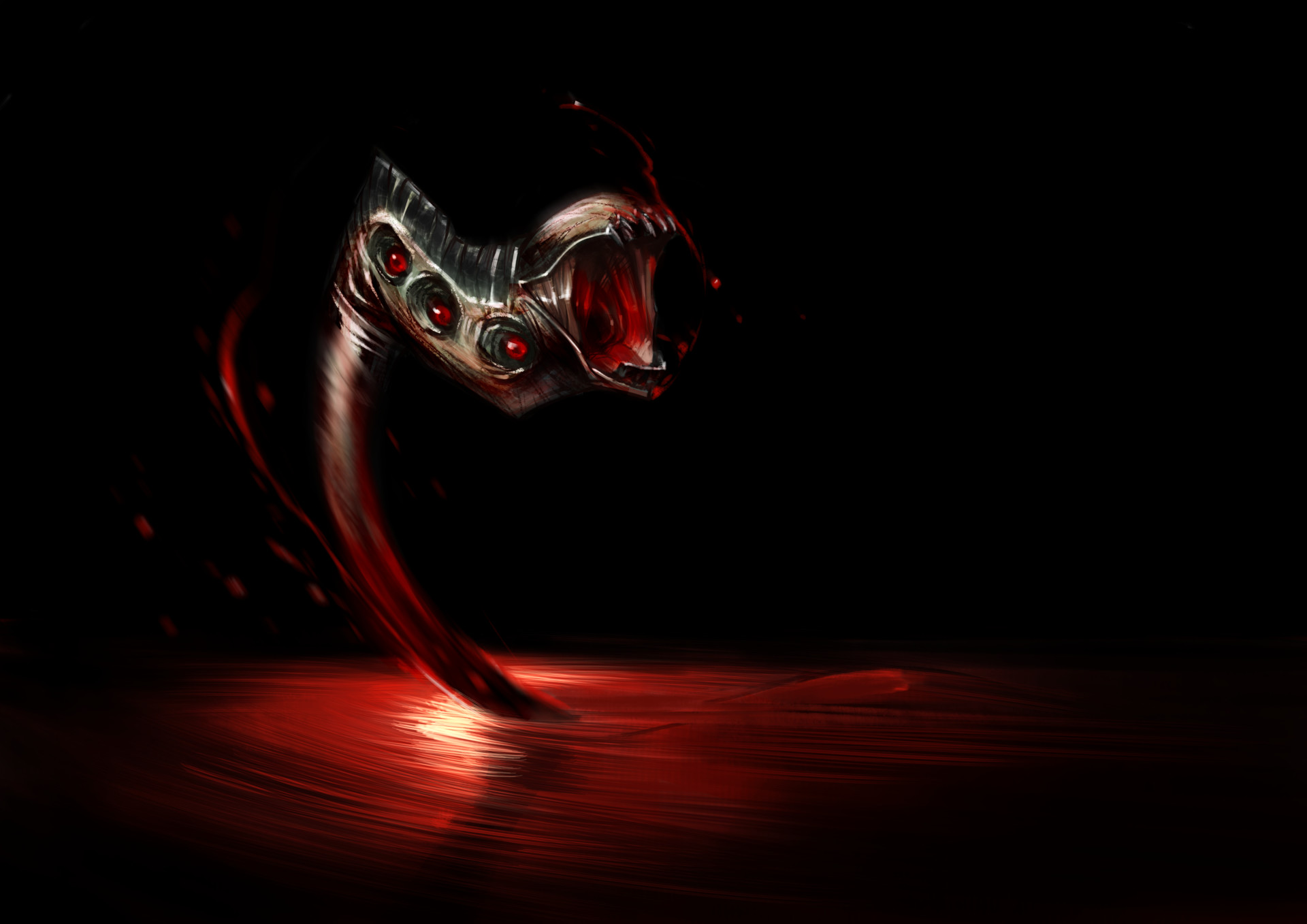 Jerome brulin blood snake