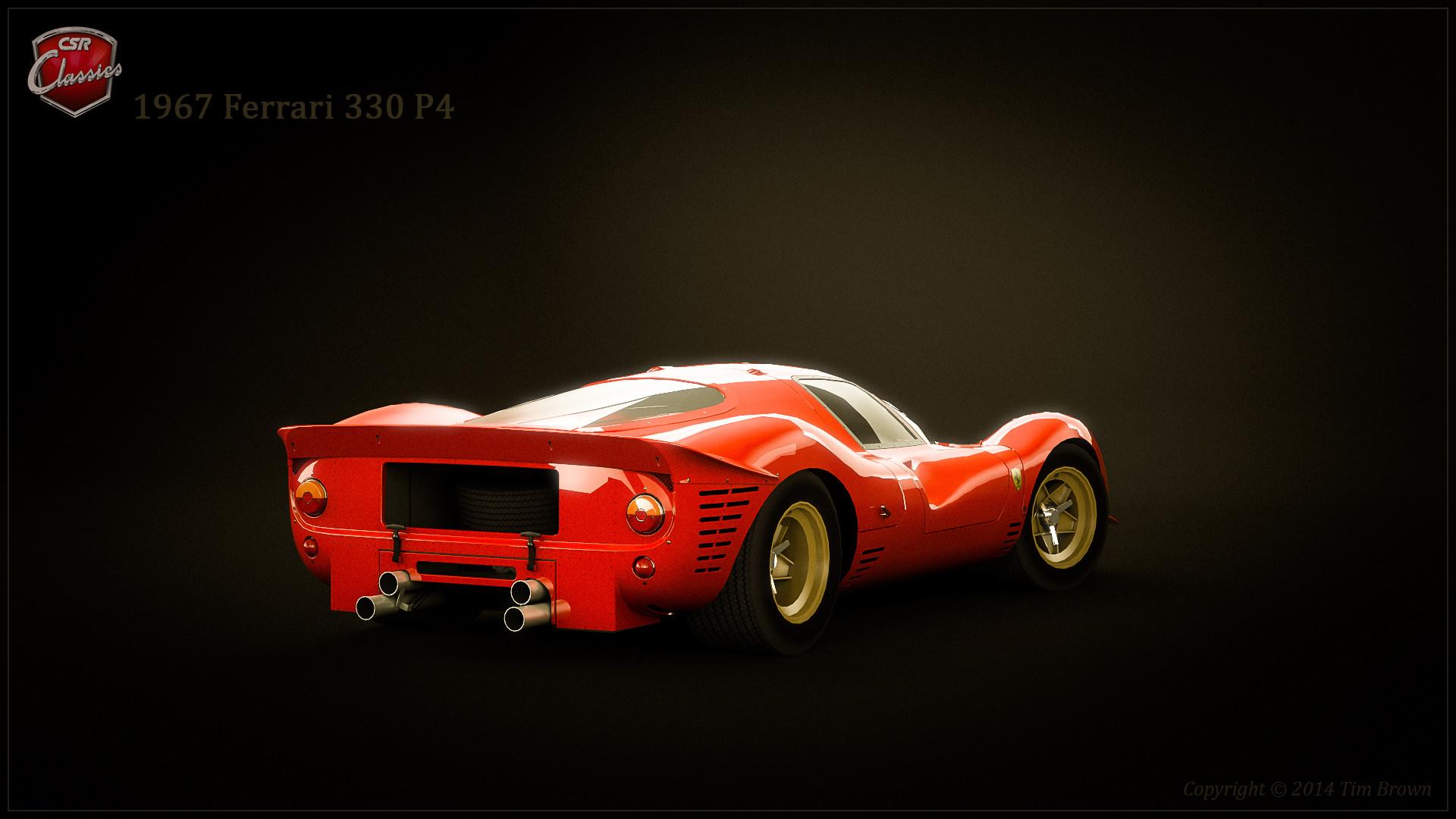 Tim Brown 1967 Ferrari 330 P4