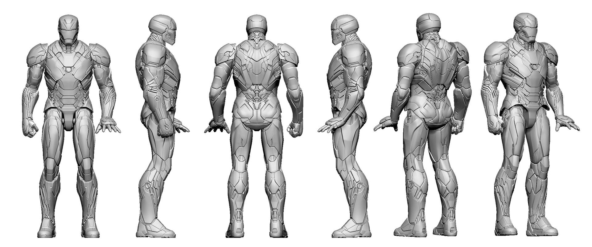 ArtStation - Iron-Man MK46 6\