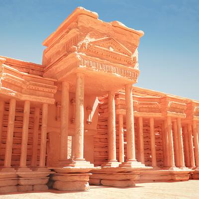 Muhammx sohail anwar 2 roman empire ruins no ground shadows 16bit original