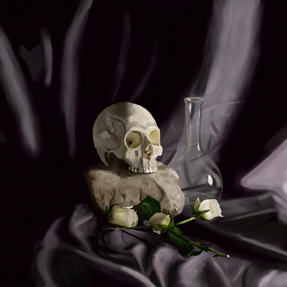 Skull 'n Roses
