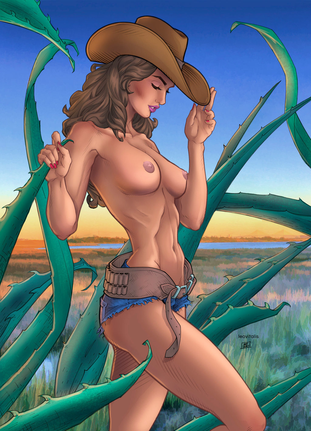 Matt james texas girl by snakebitartstudio db9sm4b