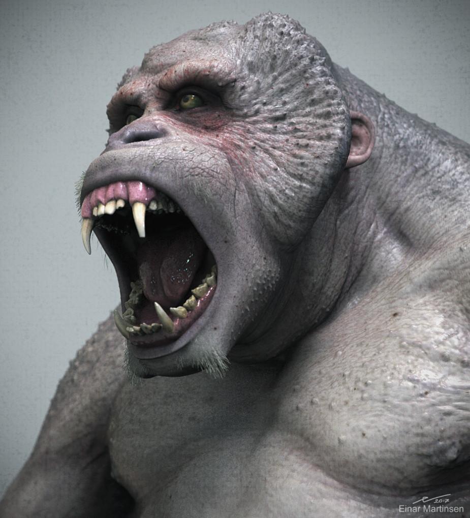 Einar martinsen einarmartinsen primate render 01