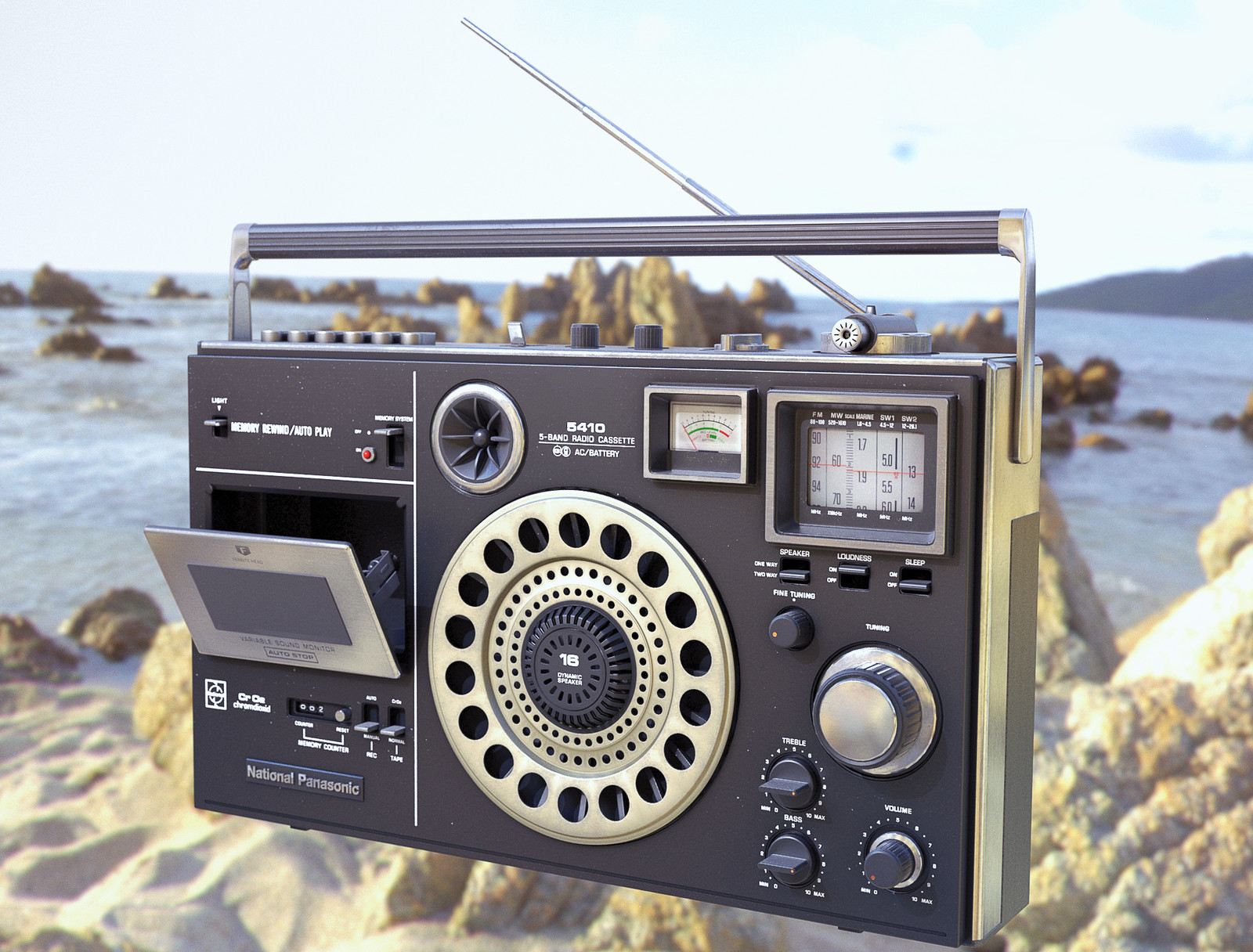 1972 National Panasonic Boombox model.