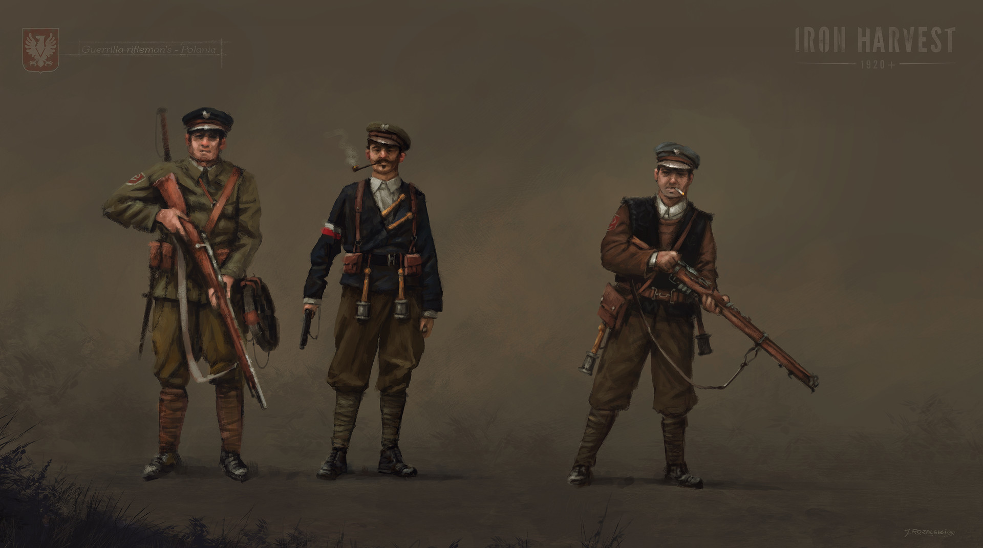 Jakub rozalski unit polania basic infantry
