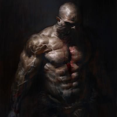 Antonio de luca barbaro in dark