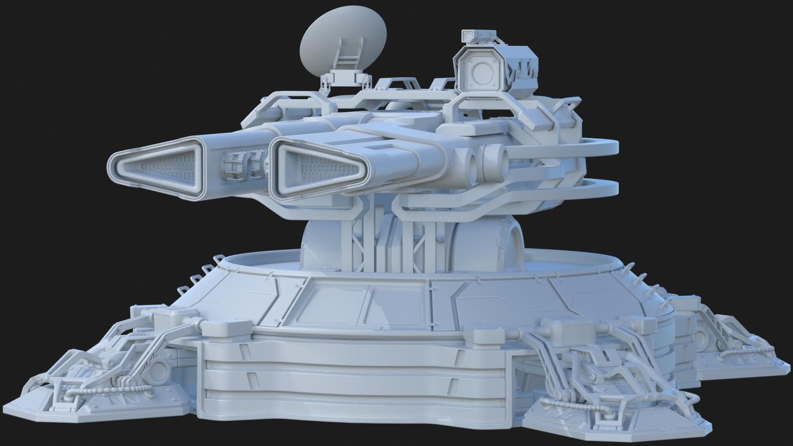 Plasma turret WIP