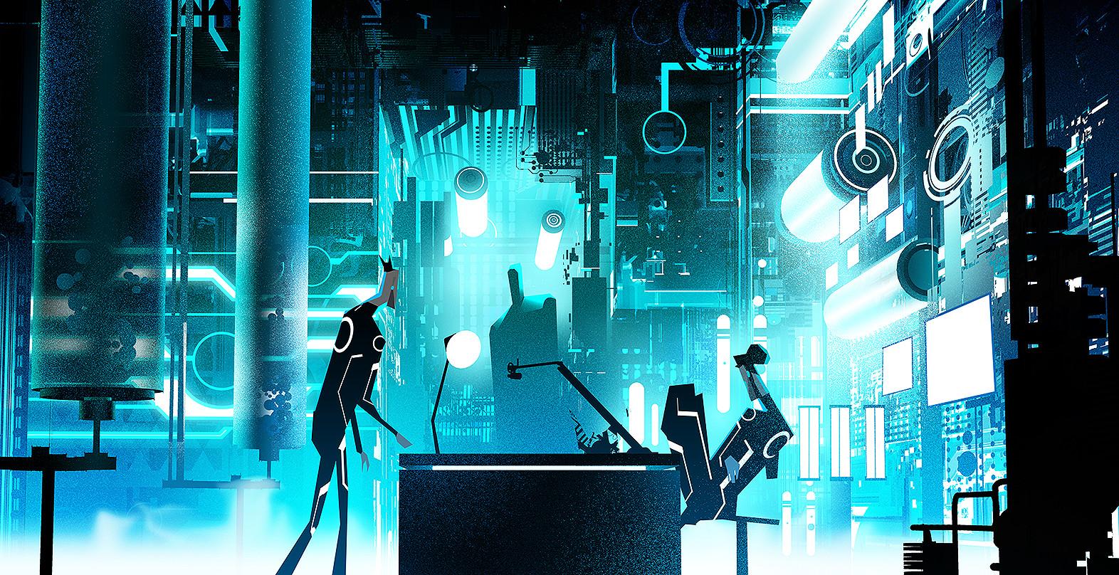 Tron Uprising Concept Art