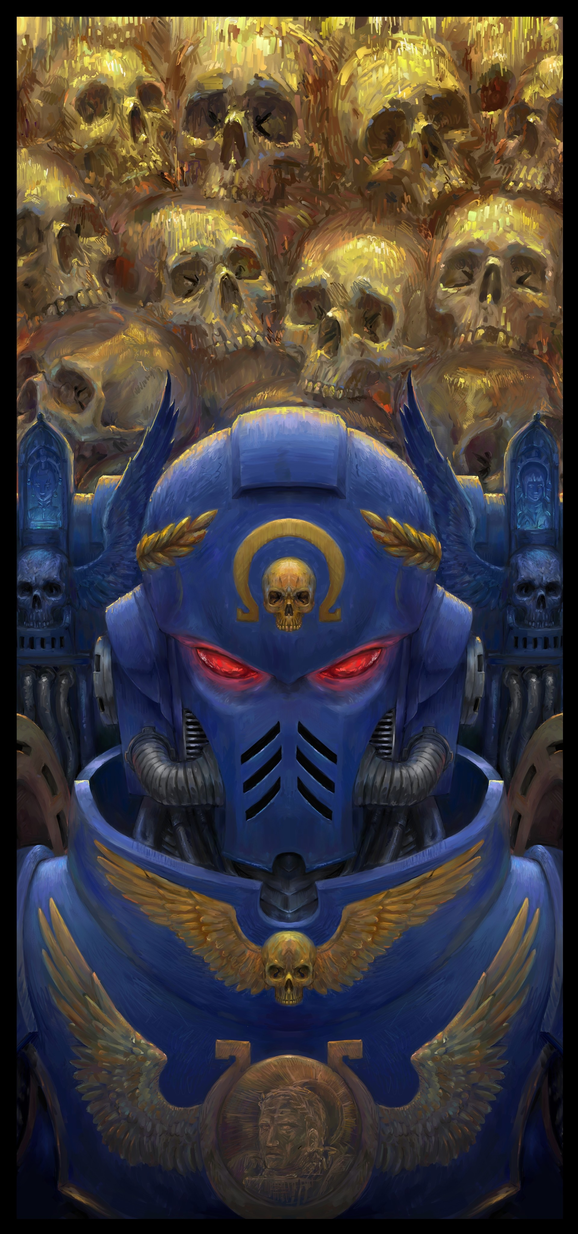 [W40K] Collection d'images : Space Marines - Page 21 Varadi-paszkal-smurf