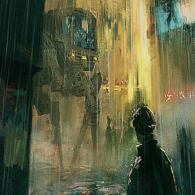 Samuel schultz rainy city small