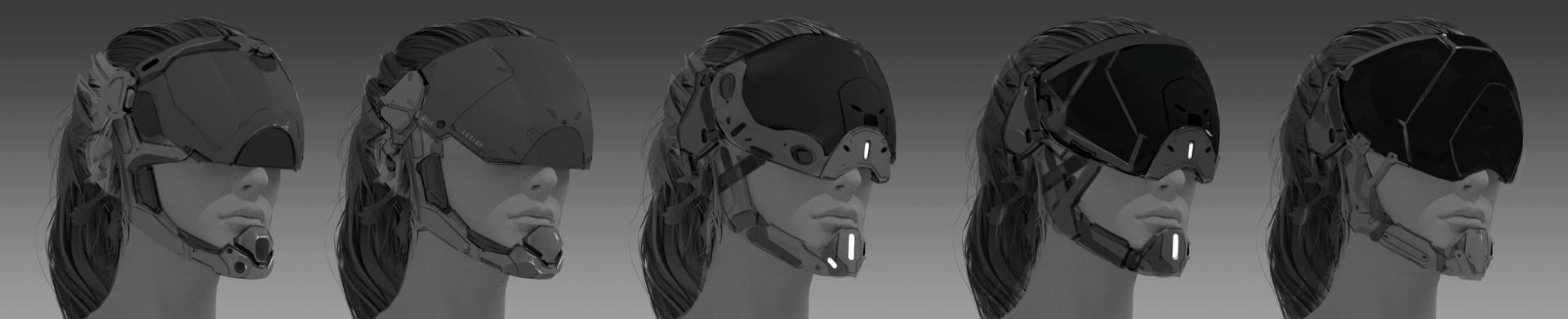 Tyler ryan helmet design