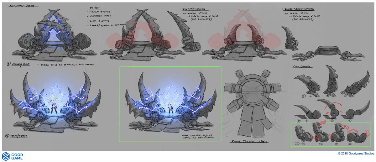 Max hugo summoning machine concept