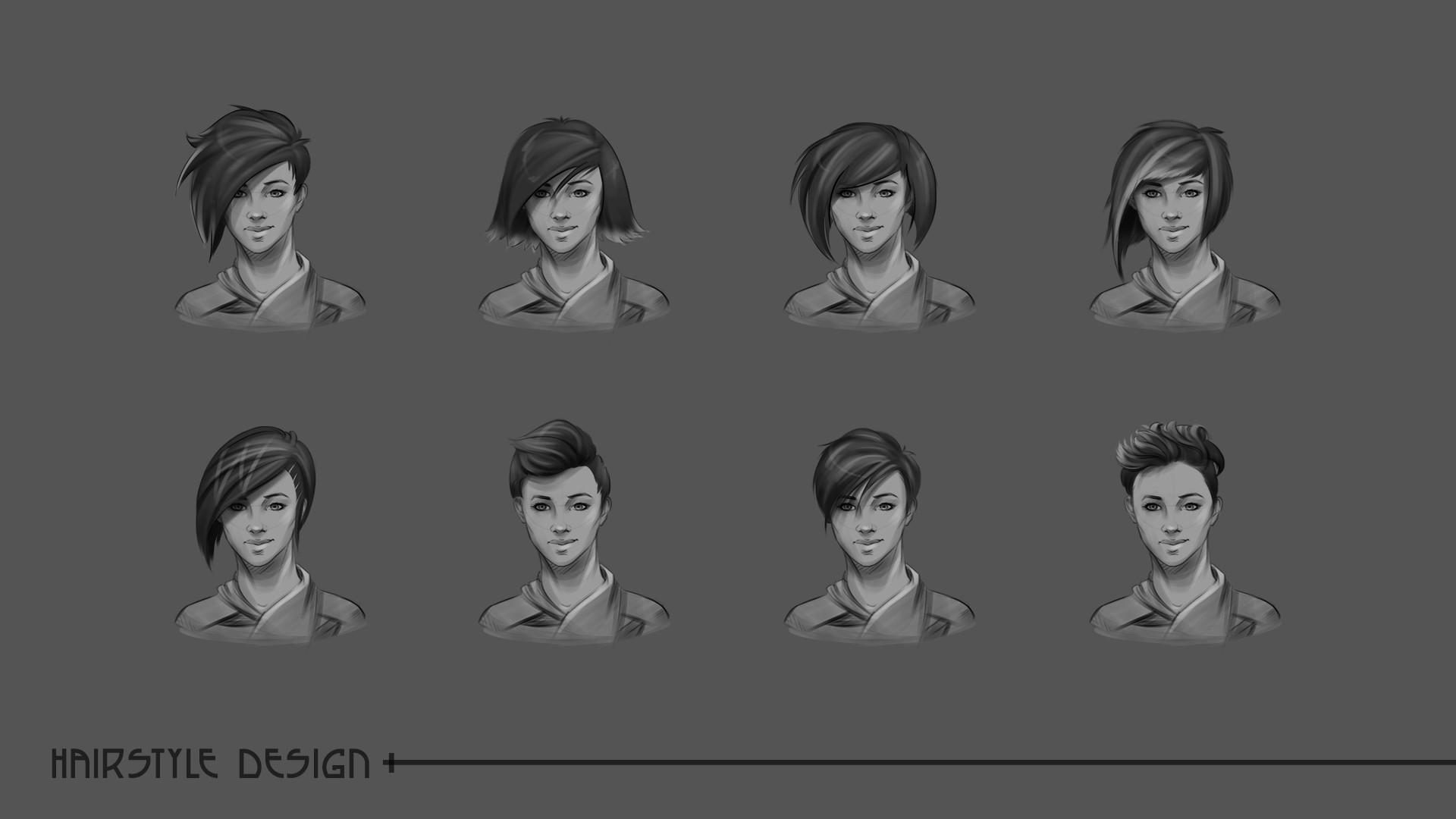 Laura escobar mulan hairstyle 1