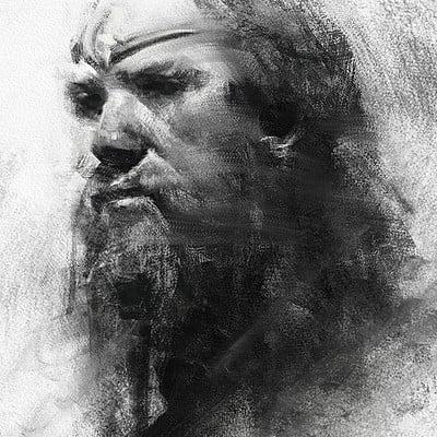 Greg rutkowski king portrait 1200