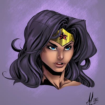 Matt james wonder woman by snakebitartstudio dba1w6f