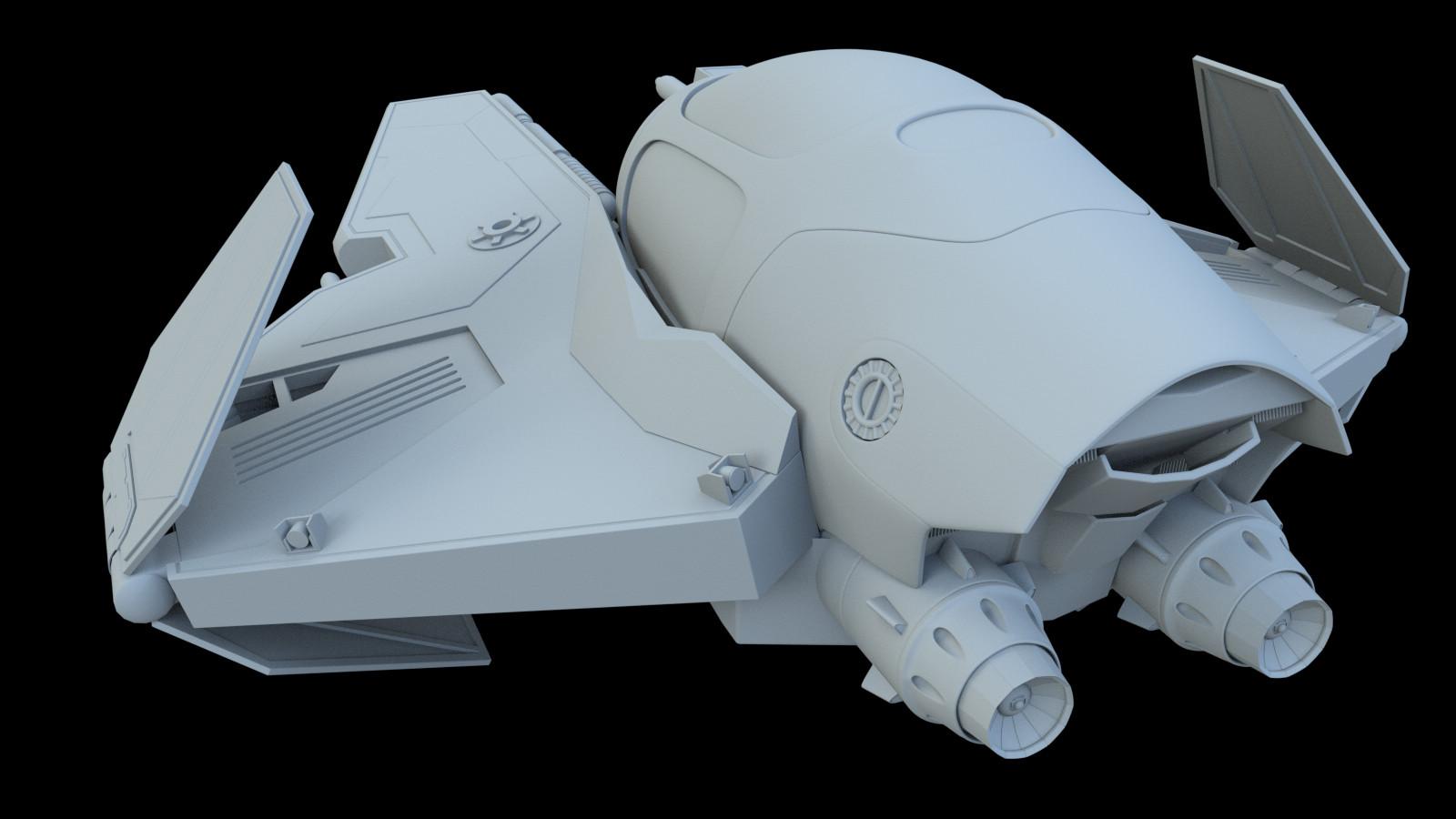 Arcadeous phoenix jedi interceptor stylized g