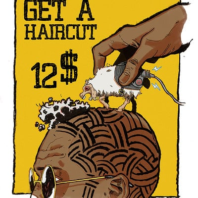 Juni ba haircut