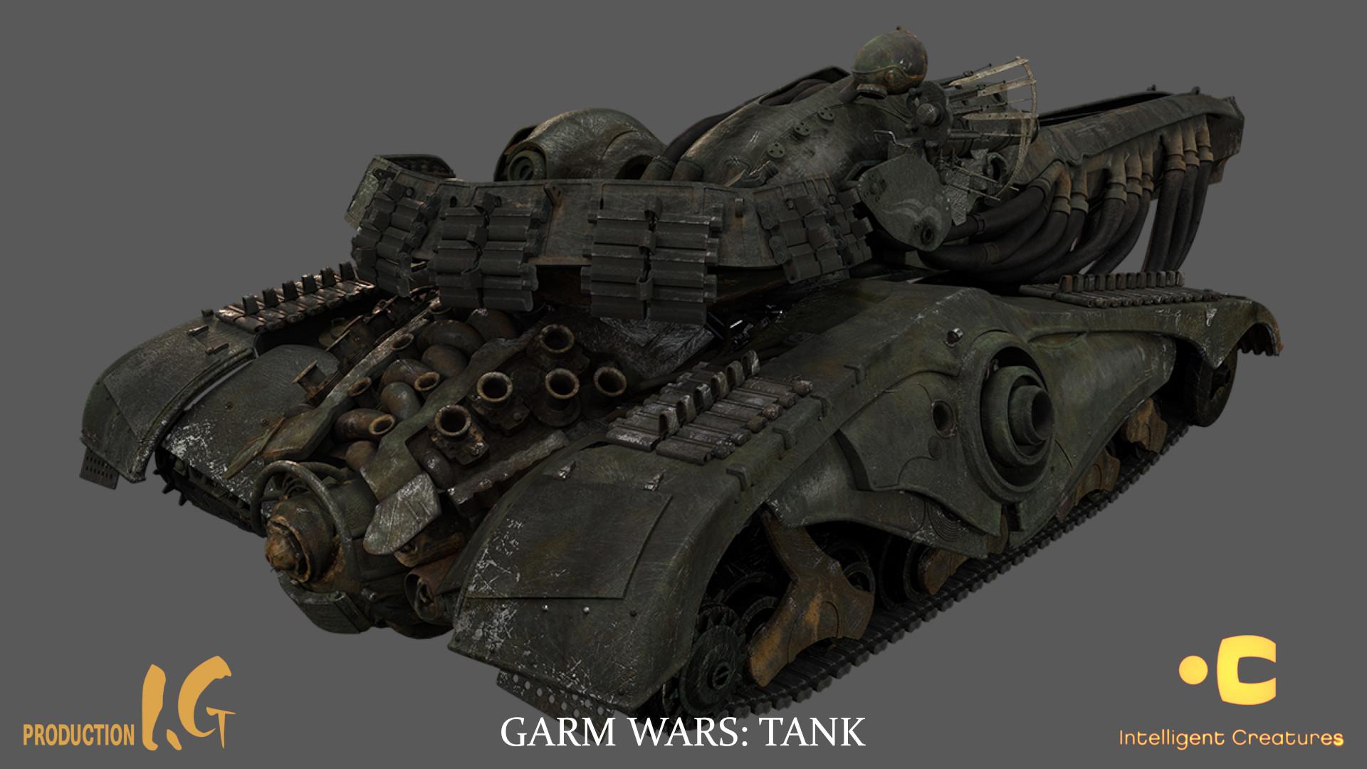Martin krol tank textured 01