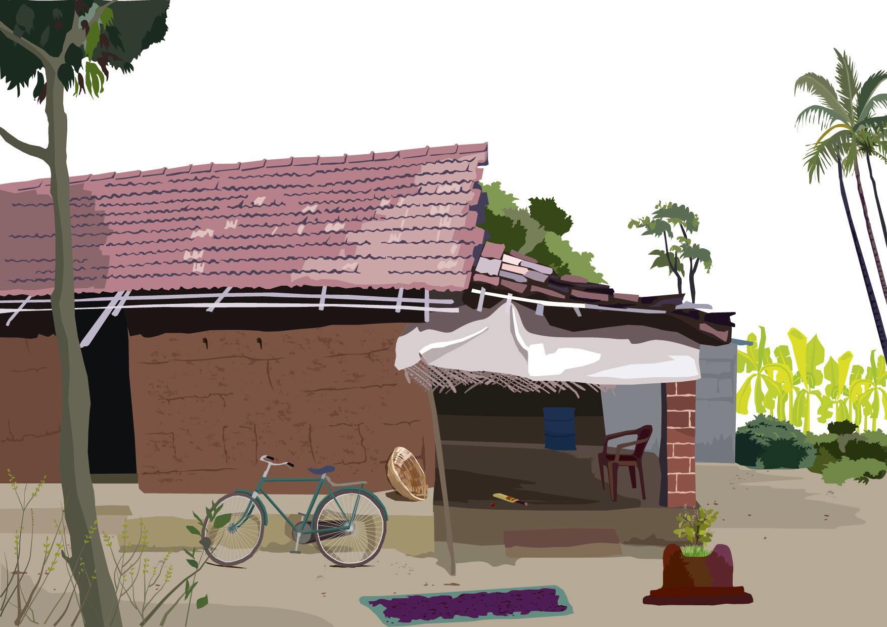 Rajesh sawant konkan house mausi vadkol 01