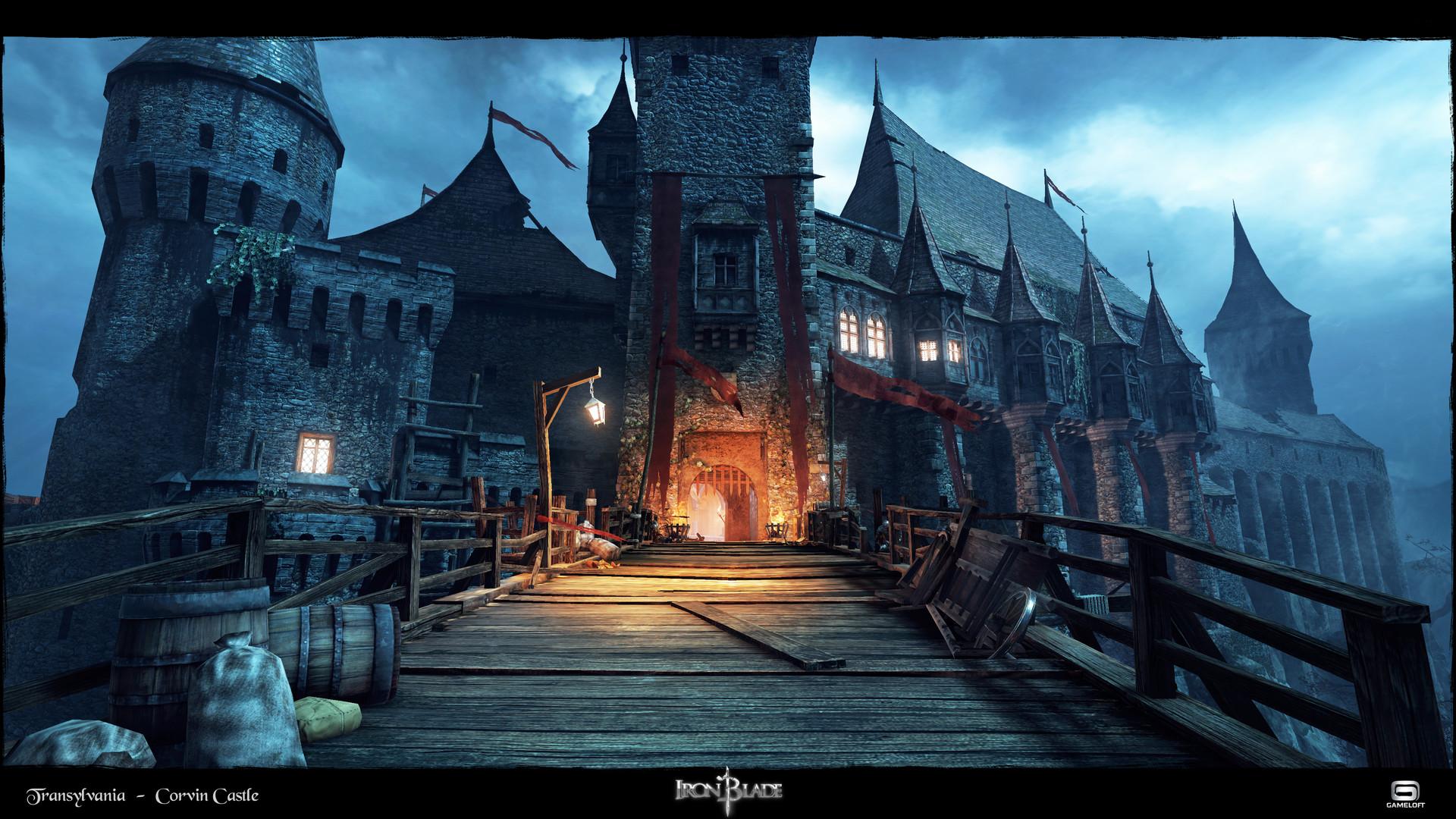 paul turc - iron blade - transylvania corvin castle