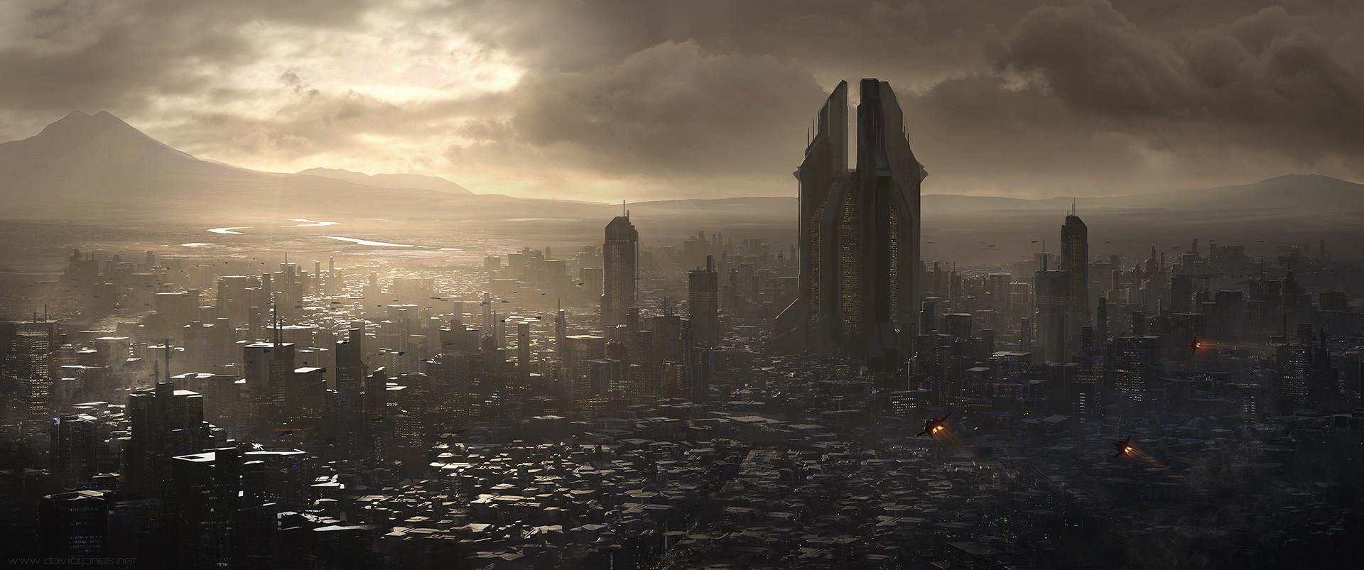 Dave jones foggy city ships 06