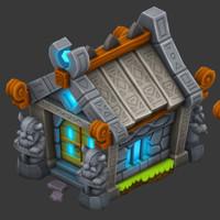 ArtStation - DragonVale World Frigid Dragon, Adam Roark
