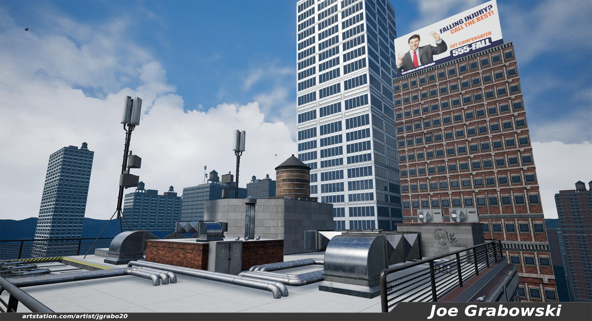 Joe Grabowski VR Tightrope Walk