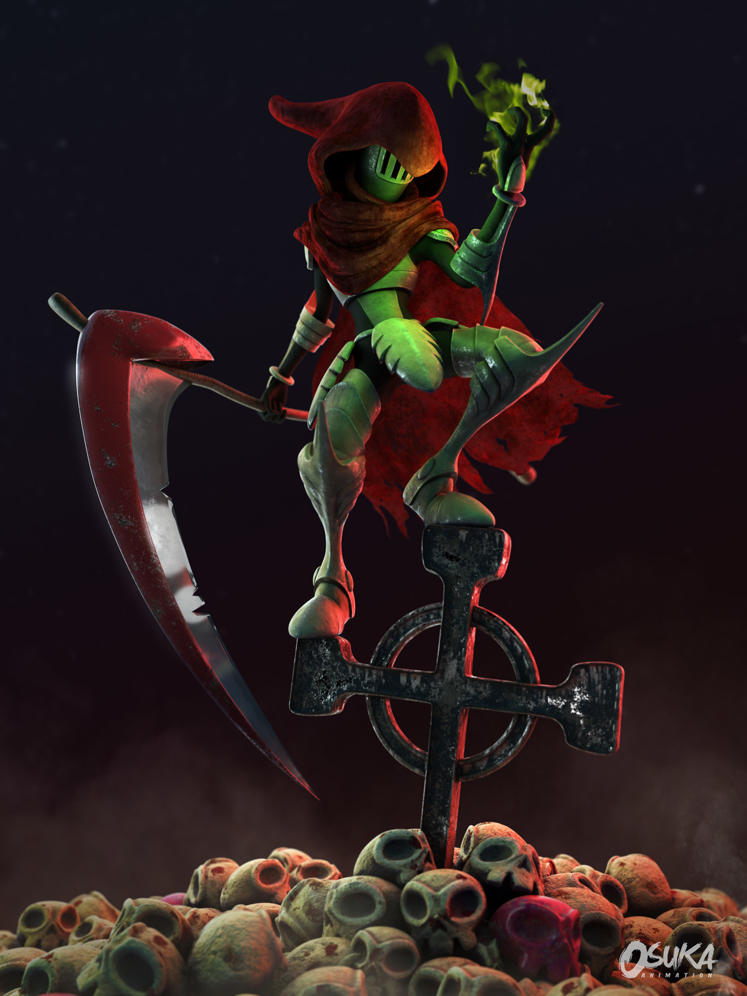 Oscar diaz c specter knight main
