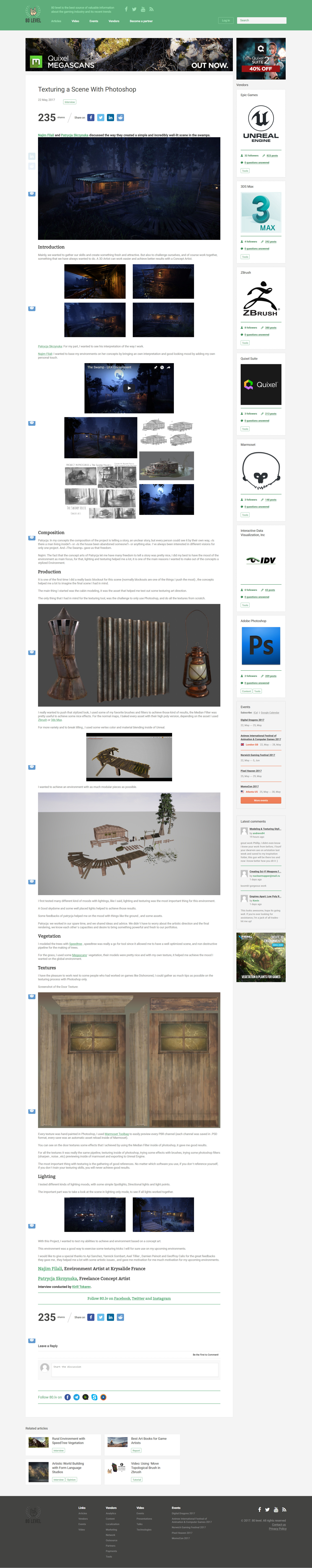 Najim filali saksak screencapture 80 lv articles texturing a scene with photoshop 1495621895947