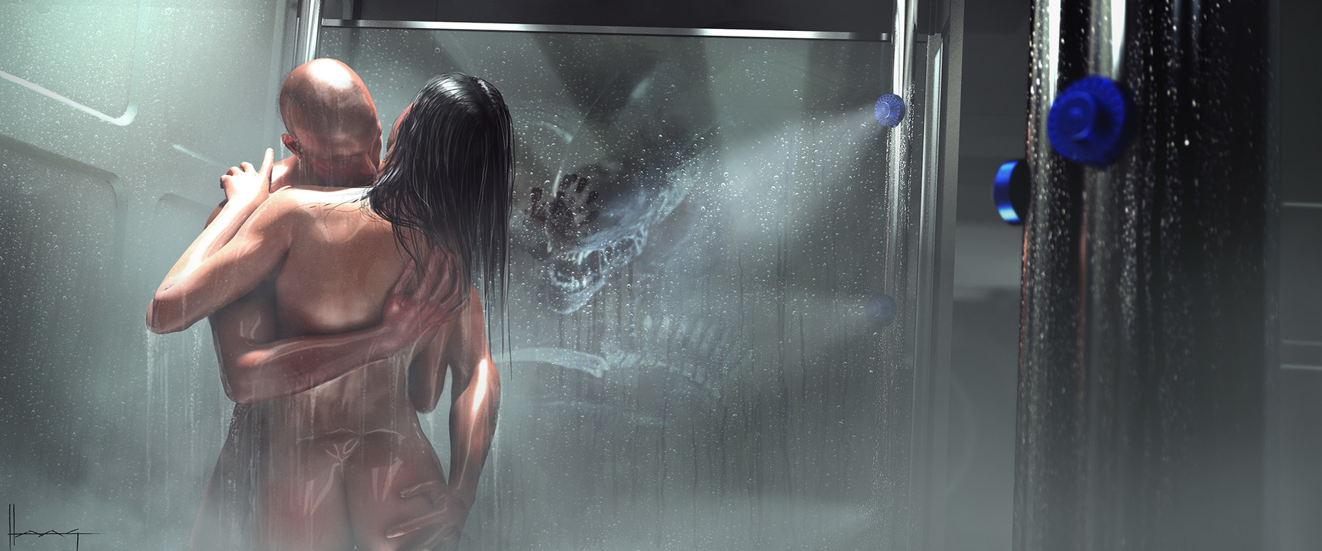 Mature Shower Scenes
