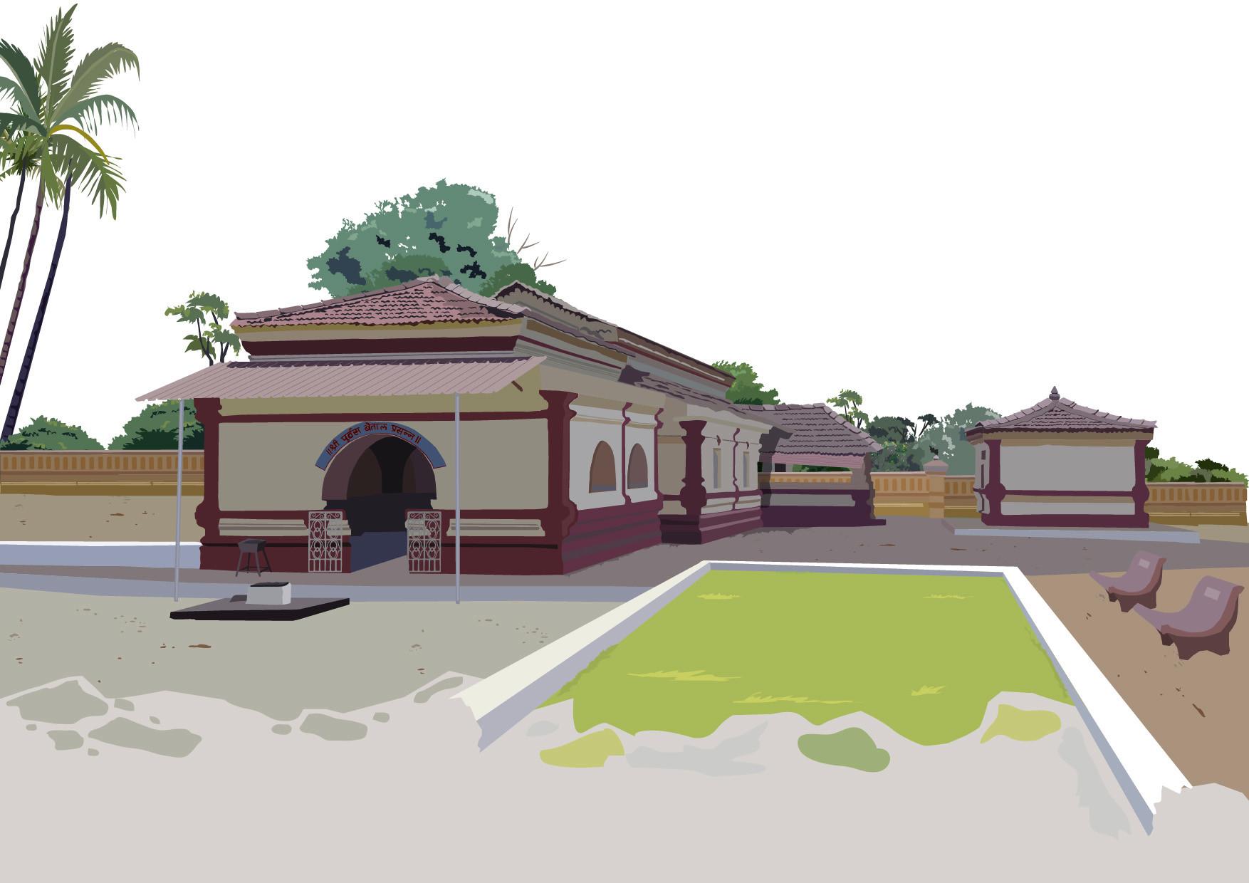 Rajesh sawant goa betal temple 01