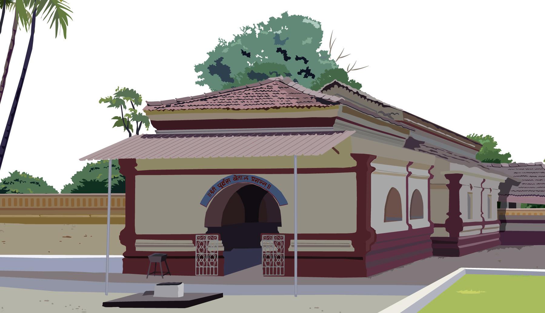 Rajesh sawant goa betal temple clsup
