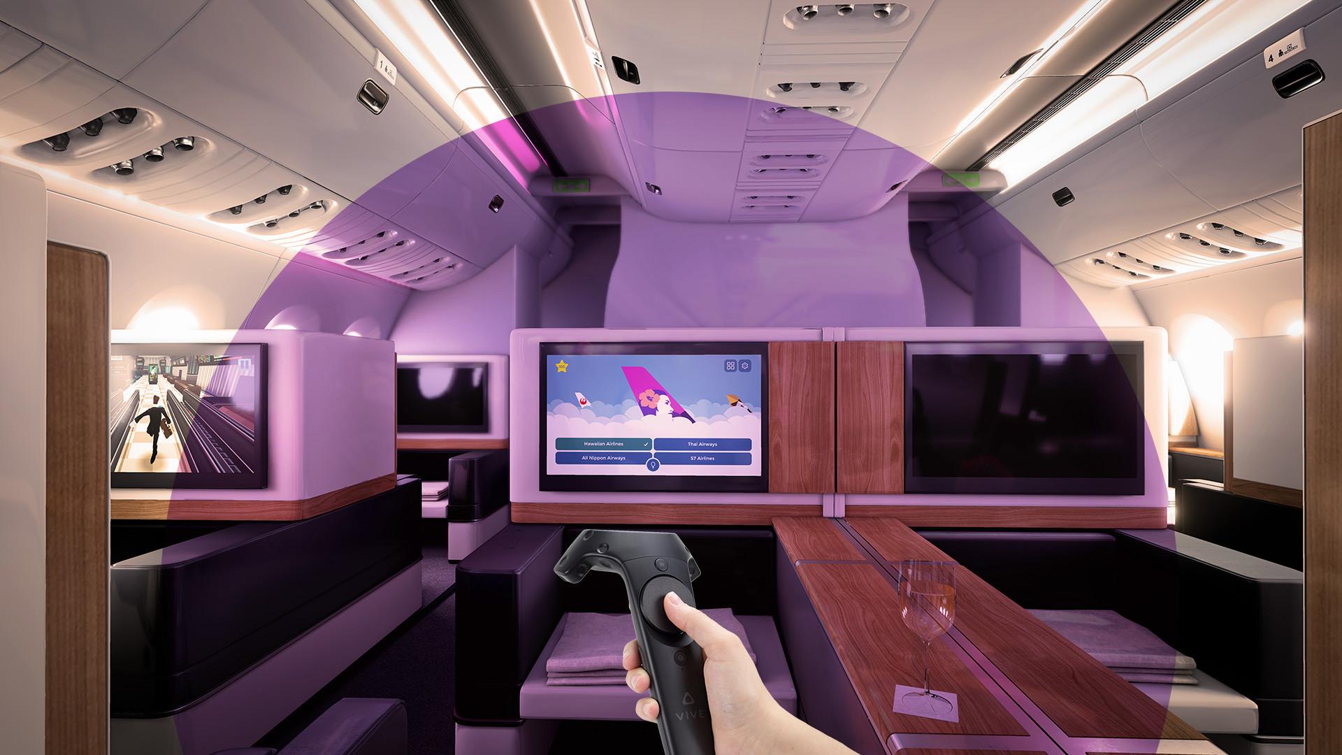 ArtStation - Airbus A350 VR · Unreal Engine, Adam Randall