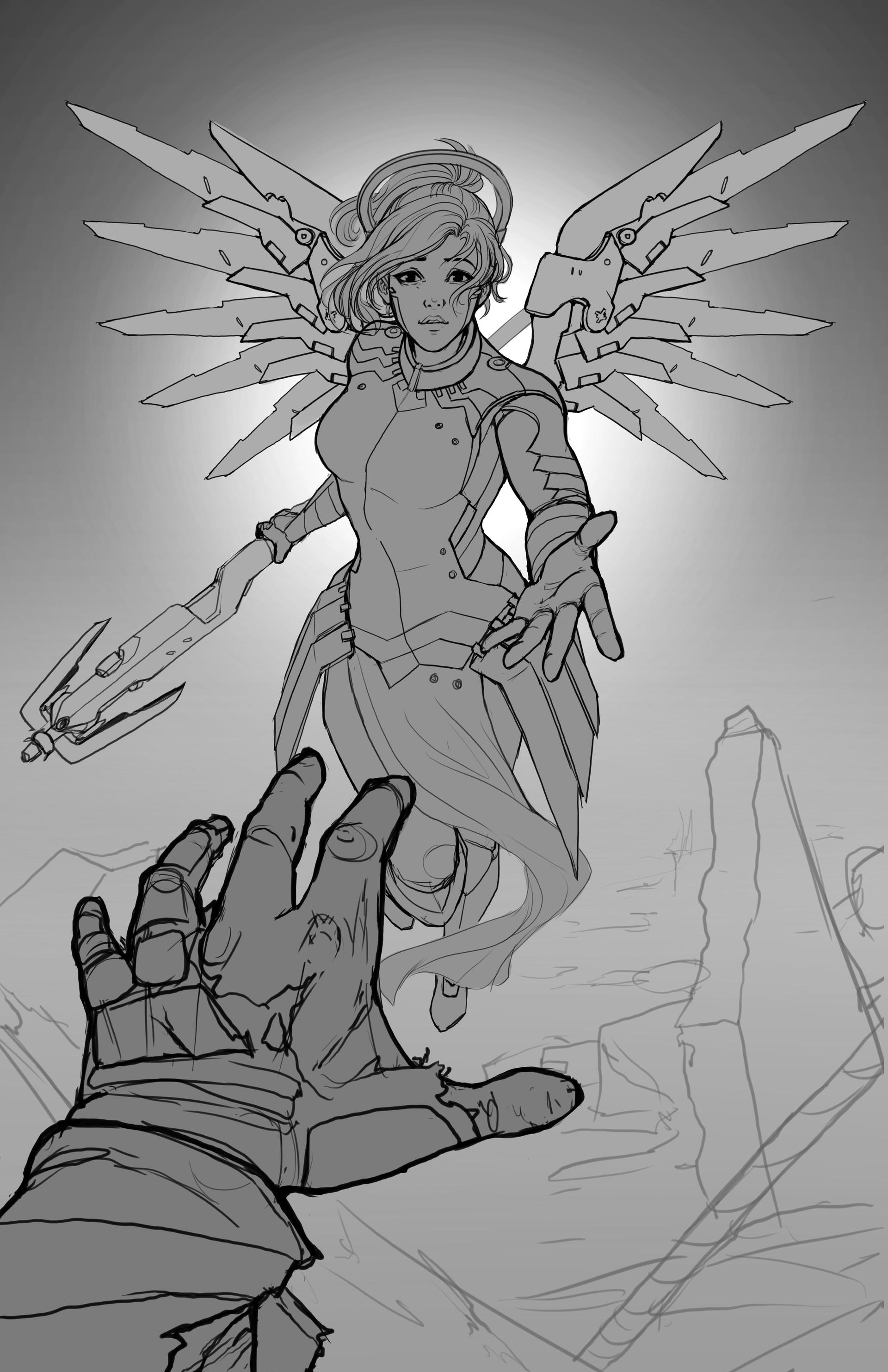 Whitney lanier mercy angel lines